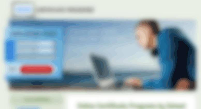 Access Onlinecertificateprograms Online Certificate Programs