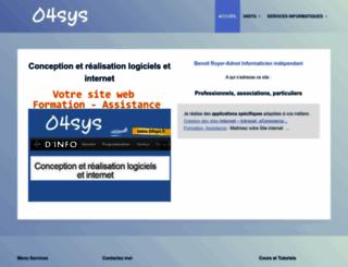 04sys.fr screenshot
