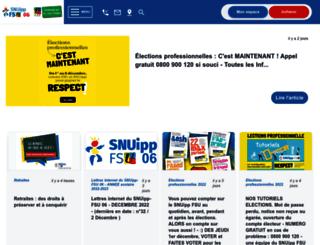 06.snuipp.fr screenshot