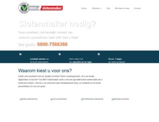 0800slotenmaker.nl screenshot