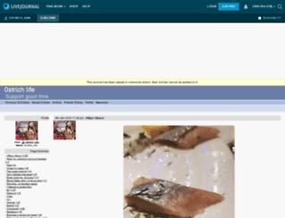 0strich.livejournal.com screenshot