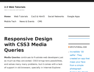 0webtutorials.com screenshot