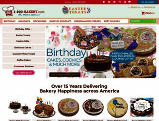 1-800-bakery.com screenshot