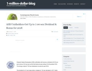1-million-dollar-blog.com screenshot