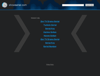 1.showserial.com screenshot