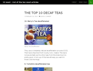 10-most.com screenshot