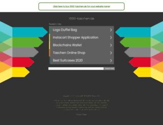 1000-taschen.de screenshot