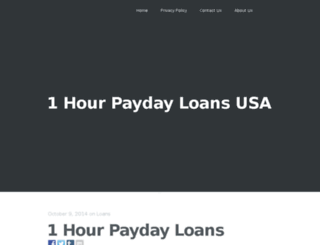 1000.dollar.payday.loans.1hourpaydayloans.us screenshot