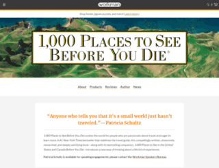 1000beforeyoudie.com screenshot