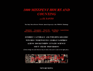 1000misspenthours.com screenshot