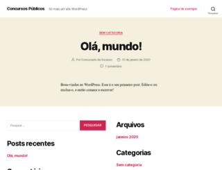 1001concursospublicos.com.br screenshot