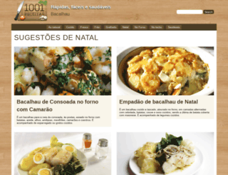 1001receitas.com screenshot