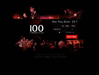 100community.com screenshot
