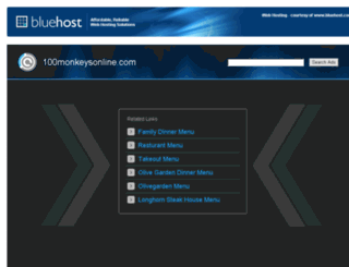 100monkeysonline.com screenshot