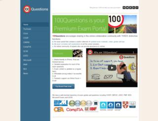 100qns.com screenshot