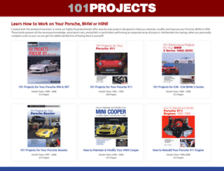 101projects.com screenshot