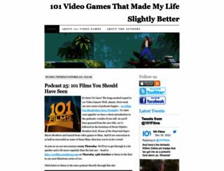 101videogames.wordpress.com screenshot