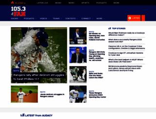 1053thefan.com screenshot