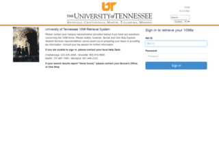 1098.tennessee.edu screenshot