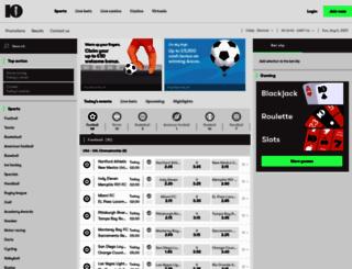 10bet.com screenshot