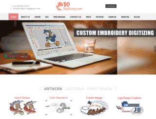 10dollardigitizing.com screenshot