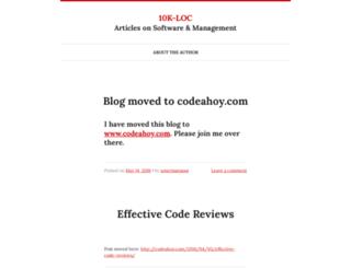 10kloc.wordpress.com screenshot