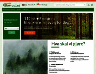 112ink.no screenshot