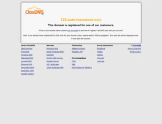 123-auto-insurance.com screenshot