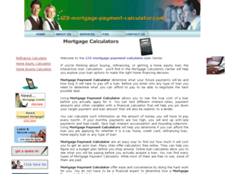 123-mortgage-payment-calculator.com screenshot