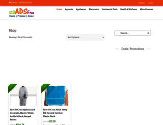 123adsfree.com screenshot