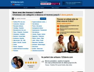123devis.com Screenshot