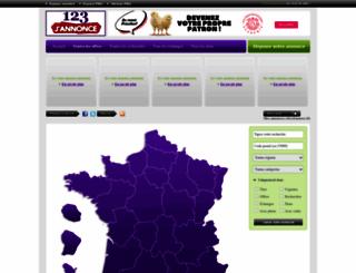 123jannonce.fr screenshot