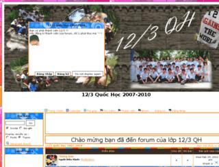 123quochoc.forumh.net screenshot