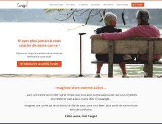 123tango.fr screenshot