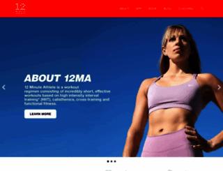 12minuteathlete.com screenshot
