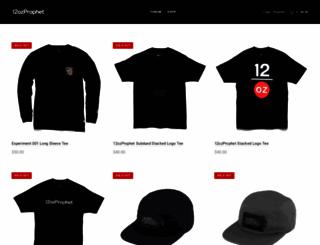 12ozprophet.com screenshot