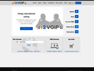 12voip.com screenshot