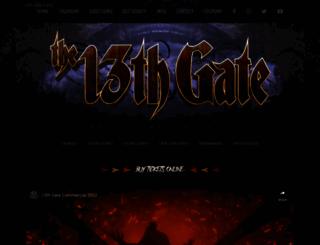 13thgate.com screenshot