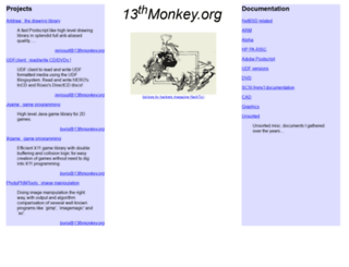 13thmonkey.org screenshot