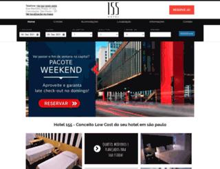 155hotel.com.br screenshot