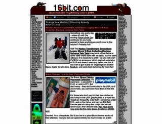 16bit.com screenshot