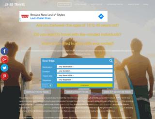 18-35travel.com screenshot