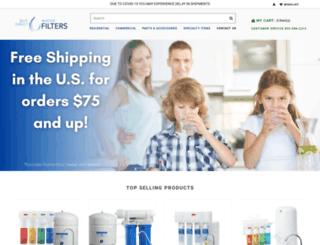 1800waterfilters.com screenshot