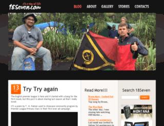 18seven.com screenshot