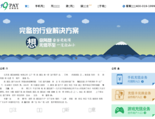 19pay.com.cn screenshot