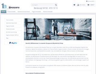1a-husqvarna-cp.de screenshot
