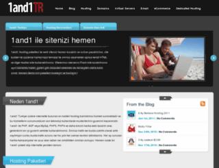 1and1turkiye.com screenshot
