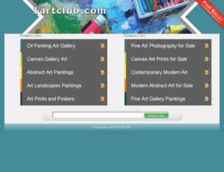 1artclub.com screenshot