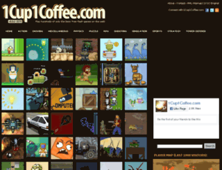 1cup1coffee.com screenshot