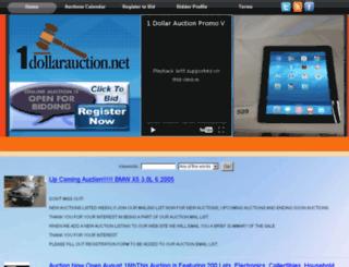 1dollarauction.net screenshot